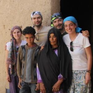 Oscar, Javi, Miriam y María – Merzouga