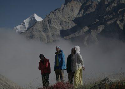 trekking himalaya meru