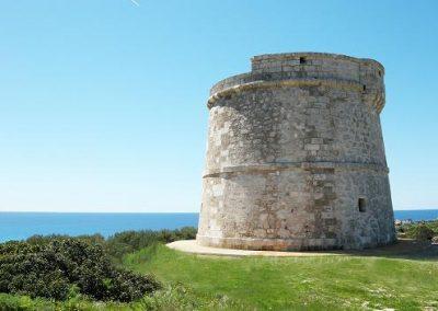 4 Vive en un torreón defensivo del siglo XVIII