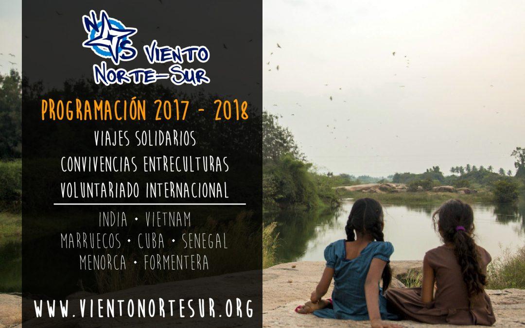 Programación 2017-2018 · Viento Norte Sur
