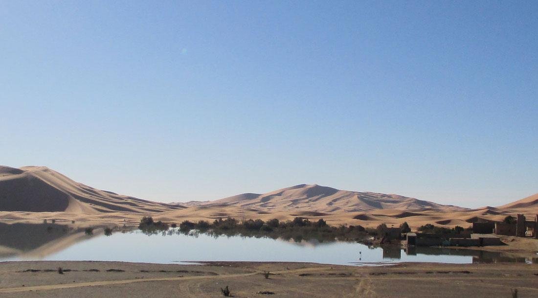 Viaje al desierto del Sahara en Merzouga