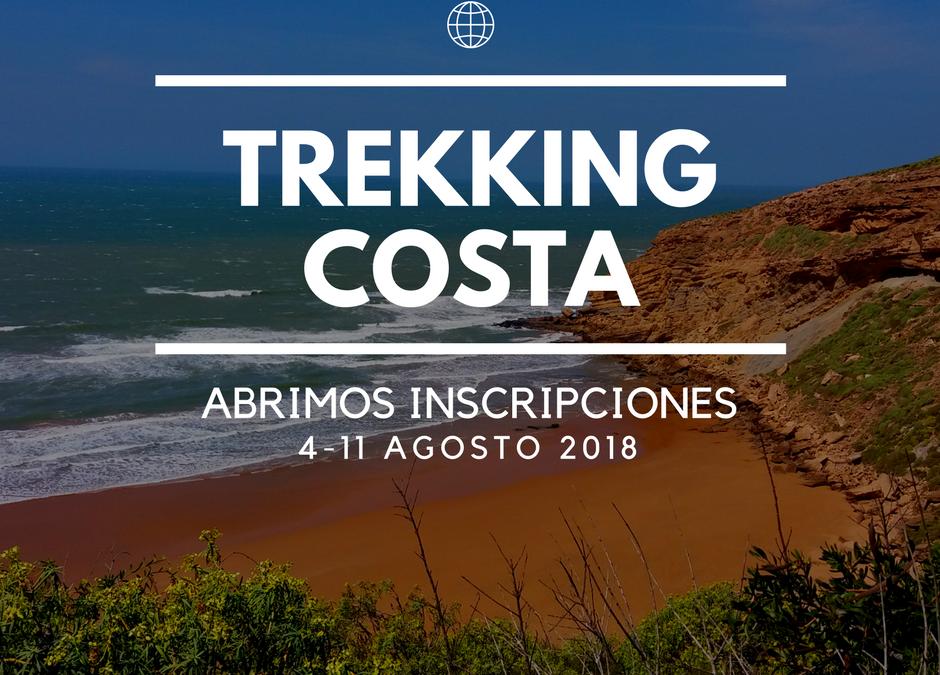 ABRIMOS INSCRIPCIONES TREKKING COSTA SOLIDARIO