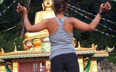 Silvia en Nepal. No sólo me perdí