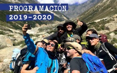 Nueva Programación 19/20 Turismo Responsable
