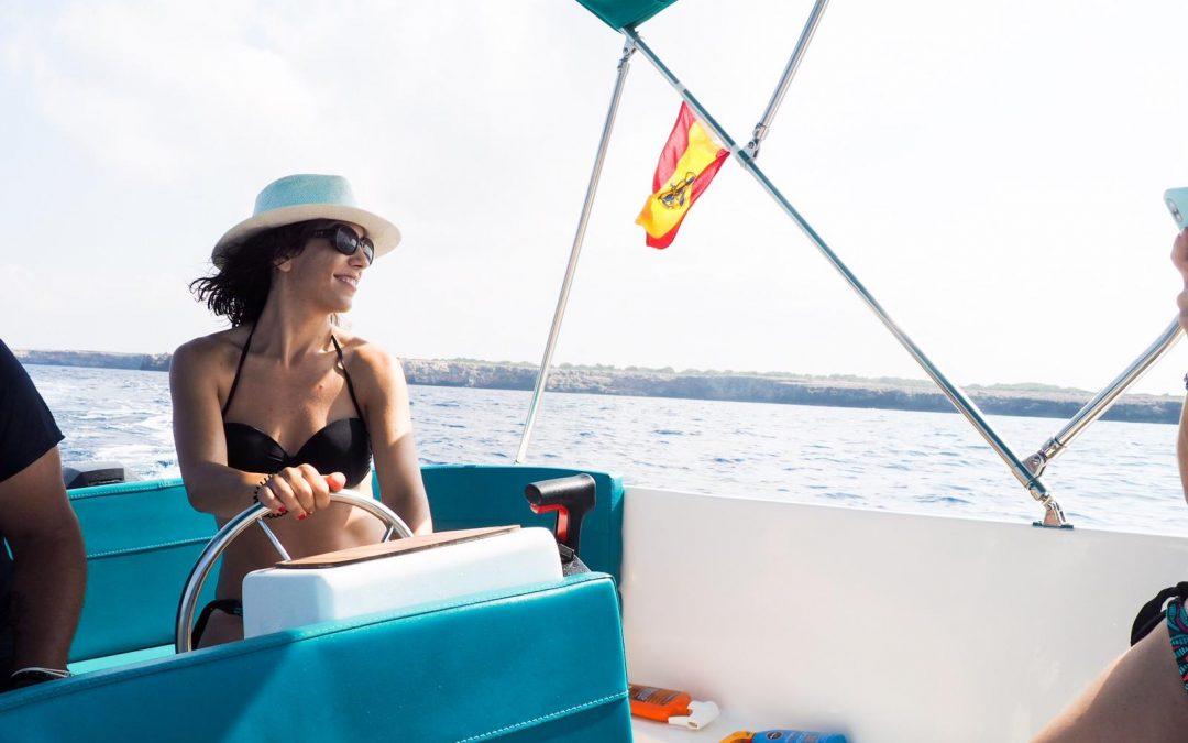 Nunca había viajado sola a Menorca