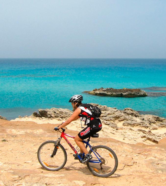 formentera activa senderismo ciclismo turismo responsable y sostenible
